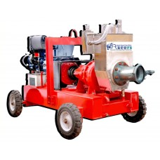"4"" Miller type dewatering pump with kirloskar engine"