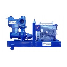 "8"" sykes type dewatering pump with kirloskar engine"