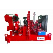 "8""dewatering pump with water cooled engine"