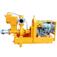 "8"" sykes type dewatering pump with kirloskar engines"