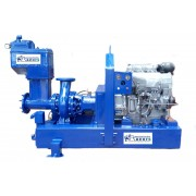 "6"" Sykes type dewatering pump with deutz engine"